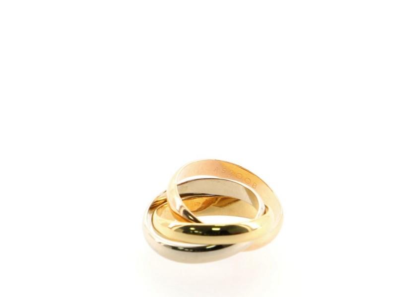 Cartier Les Must de Cartier Trinity Ring 18K Tricolor Gold
