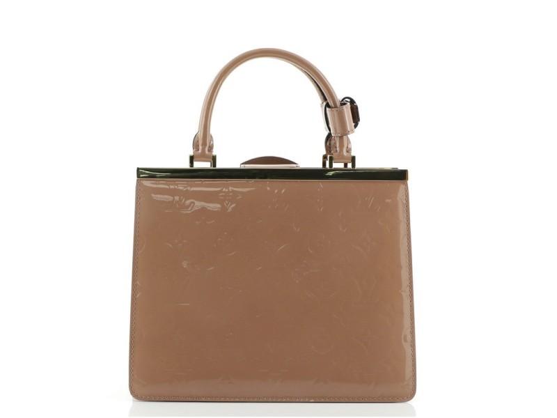 Louis Vuitton Deesse Handbag Monogram Vernis PM