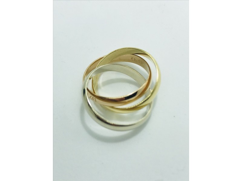 Cartier Trinity Ring size #49 US4.75