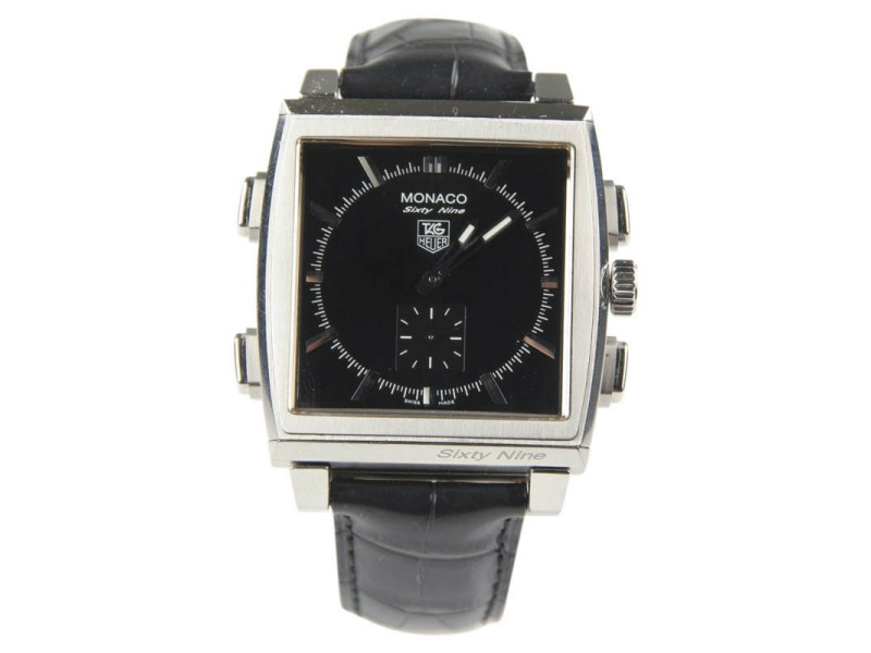 Tag Heuer Monaco Sixty Nine CW9110-0 39mm Mens Watch