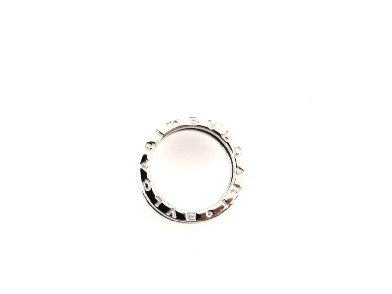 Bvlgari B.Zero1 Three Band Ring 18K White Gold 6.25 - 53