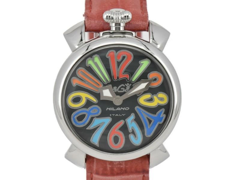 GaGa MILANO Manual 40 5020-2 Gray shell Dial Quartz Ladies Watch