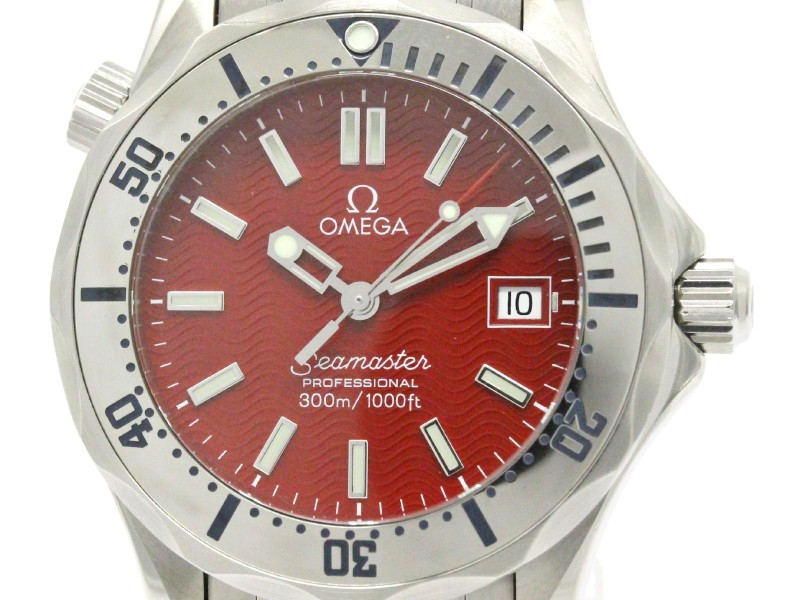 Omega Seamaster Stainless Steel 36mm Mens Watch