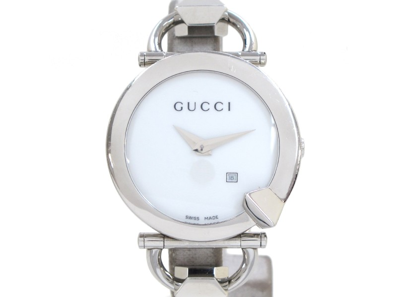 Gucci Chiodo 122.5 Stainless Steel 35mm Watch