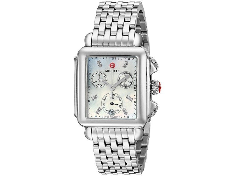 Michele Signature Deco MWW06P000101 33mm Womens Watch