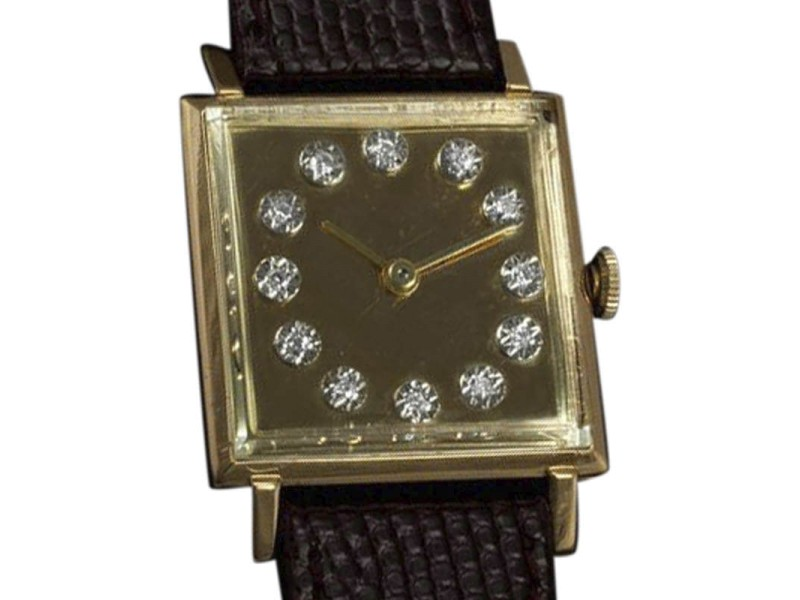 Jaeger-LeCoultre Vintage  18K Gold Mens Watch