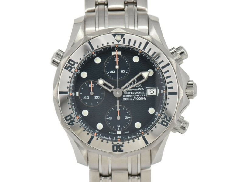 OMEGA Stainless Steel Seamaster Professional 300 Chrono 2598.80 Automatic Men's Watch