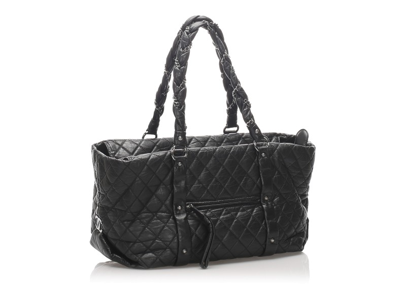 Quilted Lady Braid Tote