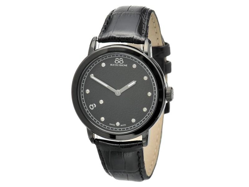 Rue Du Rhone Black Dial  87WA120029 Watch