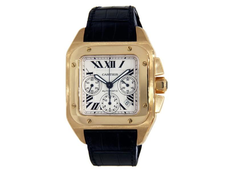 Cartier Santos 100 42mm Mens Watch