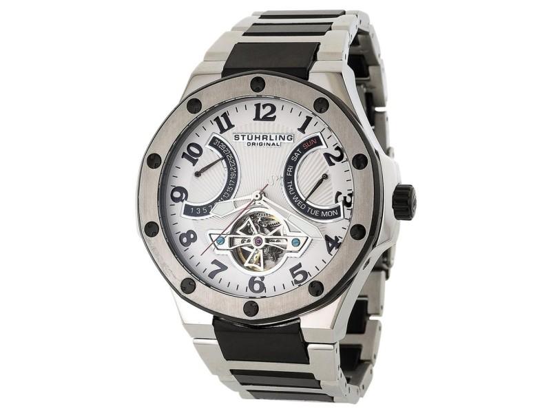 Stuhrling Spirit Pro 1160B.3312B10 Stainless Steel 53mm x 46mm Watch