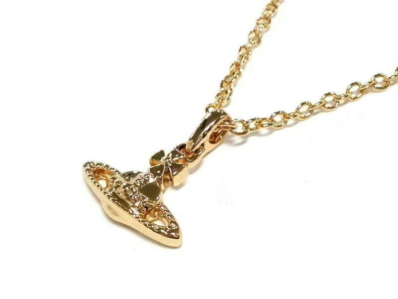 Vivienne Westwood Gold Hardware Necklace
