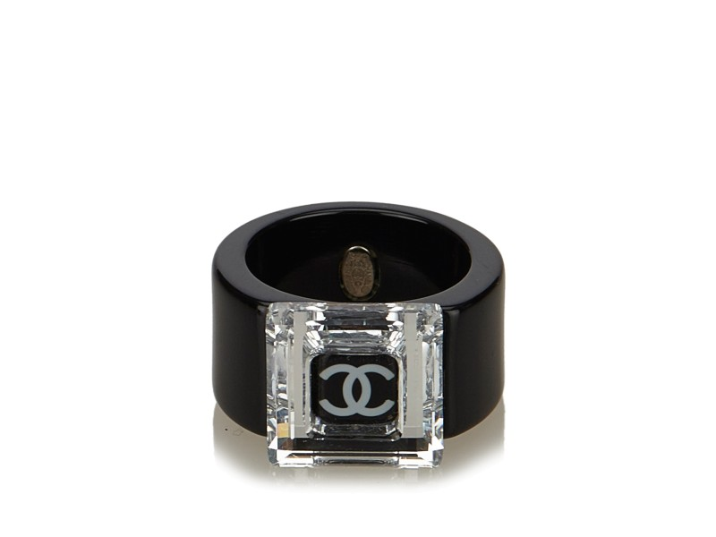 Chanel CC Ring Size 7
