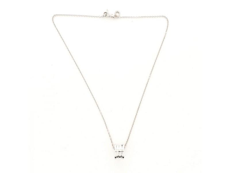 Bvlgari B.Zero1 Pendant Necklace 18K White Gold