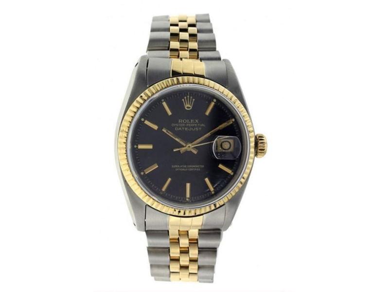 Rolex Datejust 16201 Vintage 36mm Mens Watch
