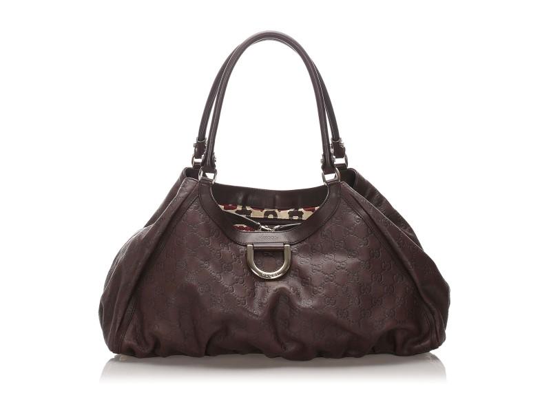 Guccissima Abbey D-Ring Shoulder Bag