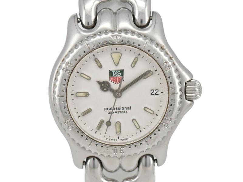 TAG HEUER S/el Professional 200M S99.013K White Dial Quartz Boy's Watch