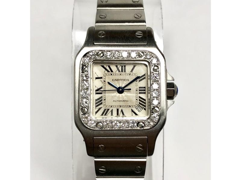 CARTIER SANTOS GALBEE 24mm Automatic Steel Watch