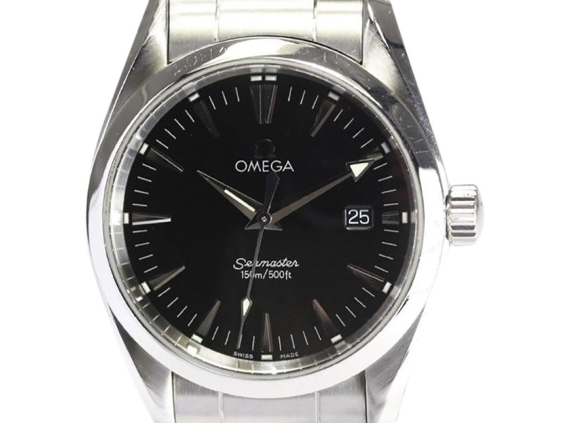 Omega Seamaster Aqua Terra 2518.50 Stainless Steel Quartz 36mm Mens Watch