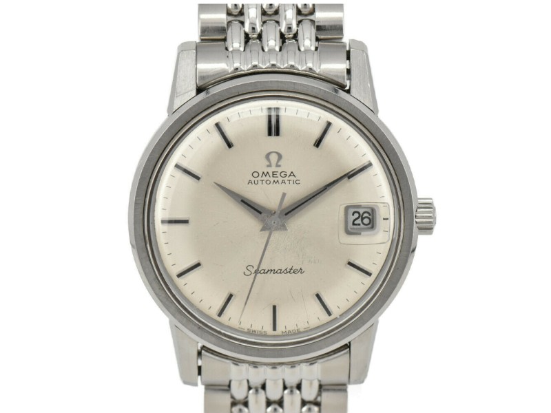 OMEGA Seamaster Cal.565 Silver Dial Date Automatic Men's Watch