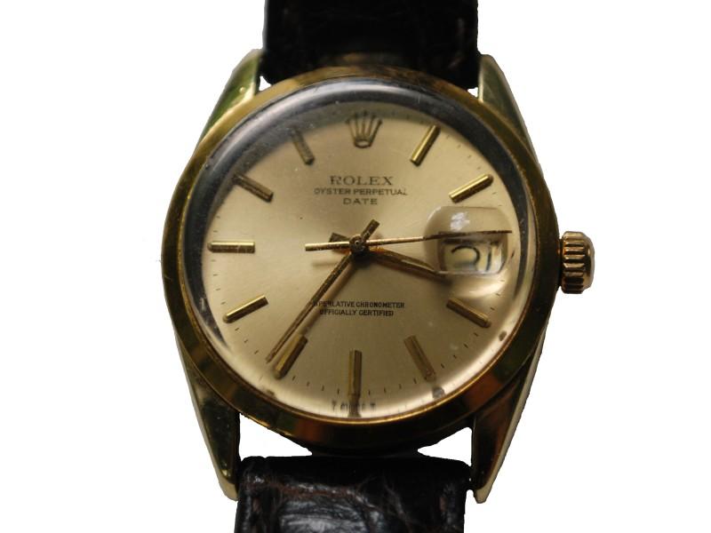 Rolex Date 1550 Vintage 34mm Mens Watch