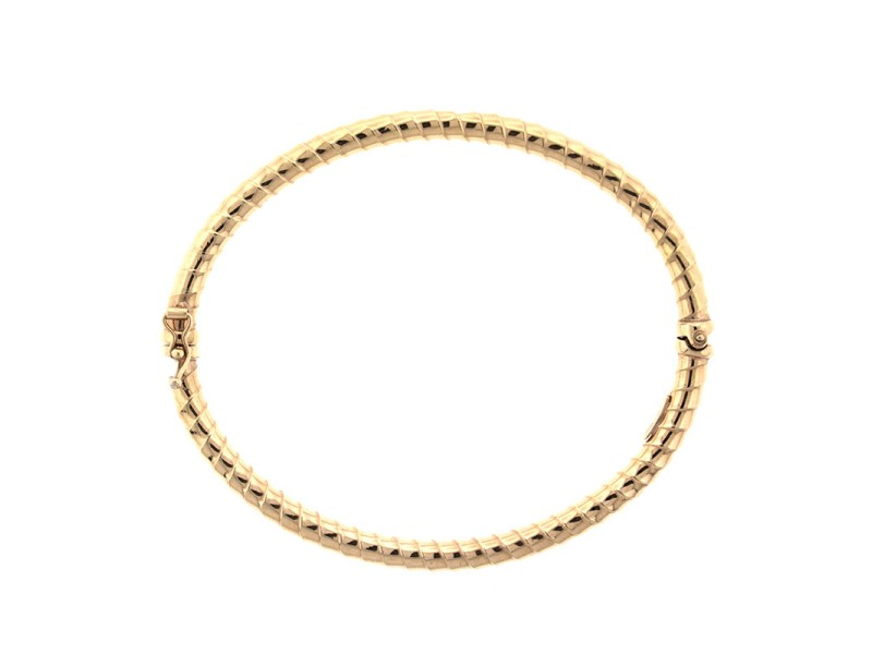 18kp Contemporary Citra Gold Bangle