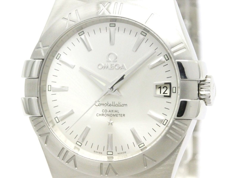 Omega Constellation 123.10.35.20.02.001 Stainless Steel Automatic 35mm Mens Watch