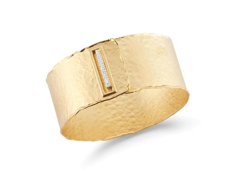 I. Reiss BIR480Y 14k Yellow Gold diamonds0.36 H-SI Diamonds Bracelet