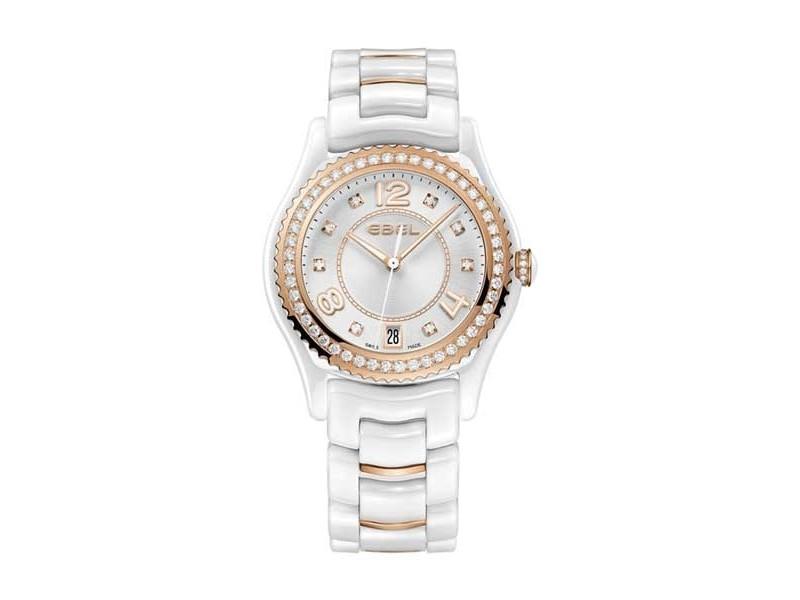 Ebel X-1 Rose Gold & Diamond 34 mm Womens Watch