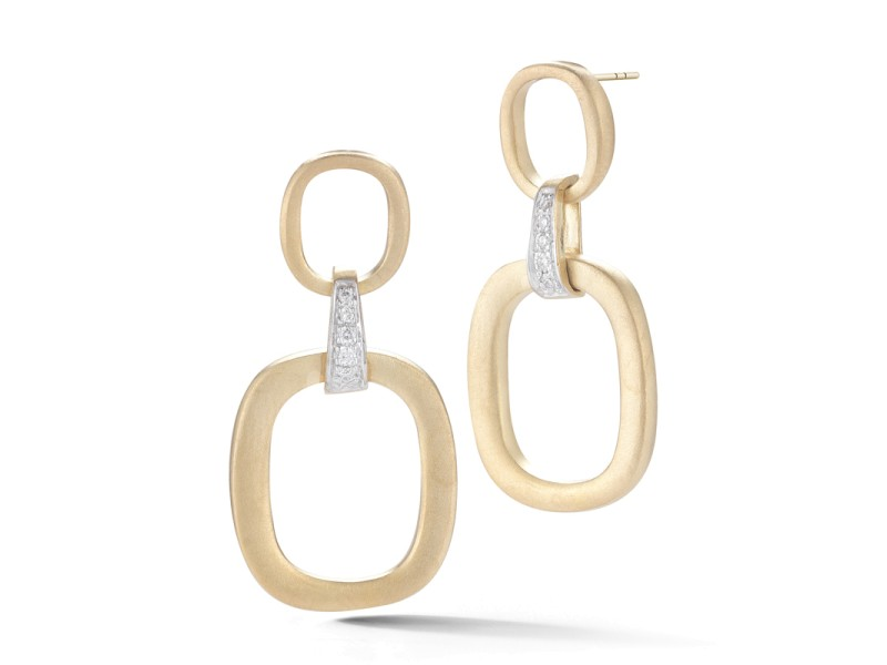 I.Reiss Satin-finish Dangling Earrings