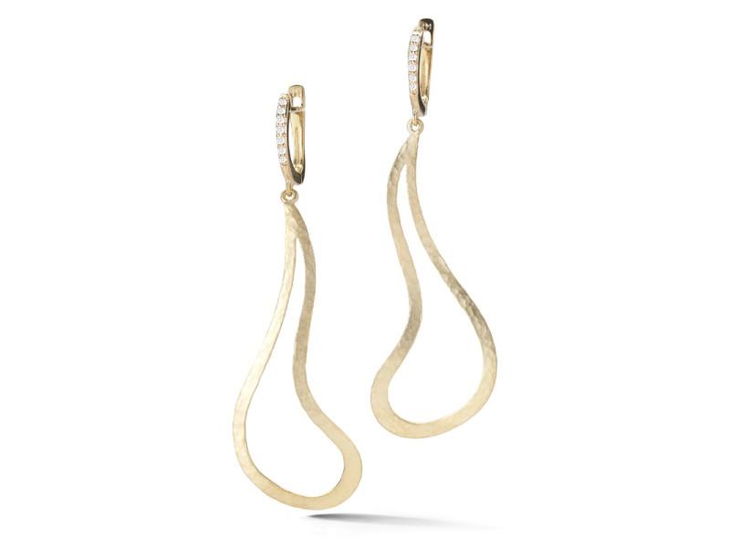 I.Reiss Satin-finish Free-form Earrings
