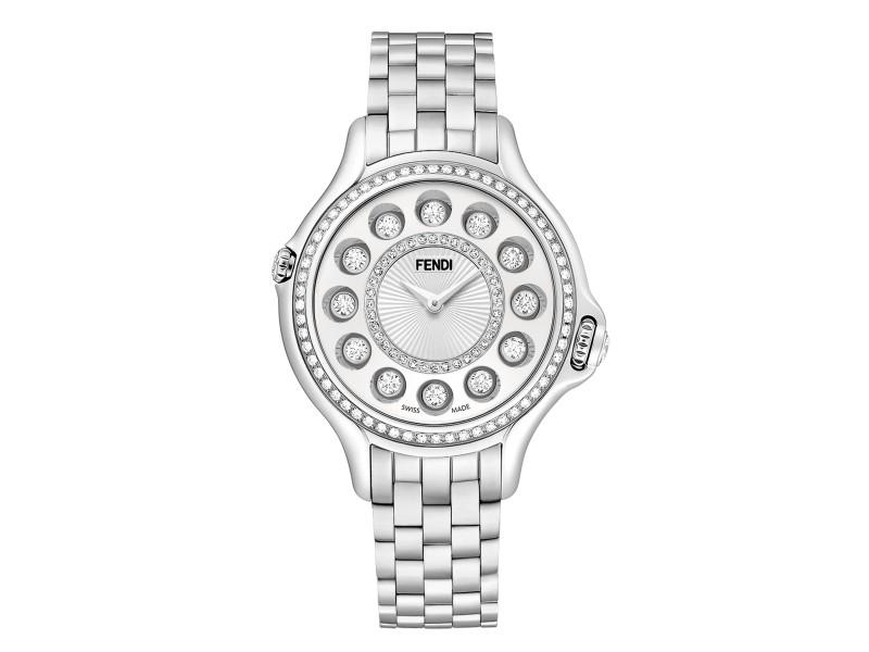 Fendi Timepieces Grey 39 mm F105010601