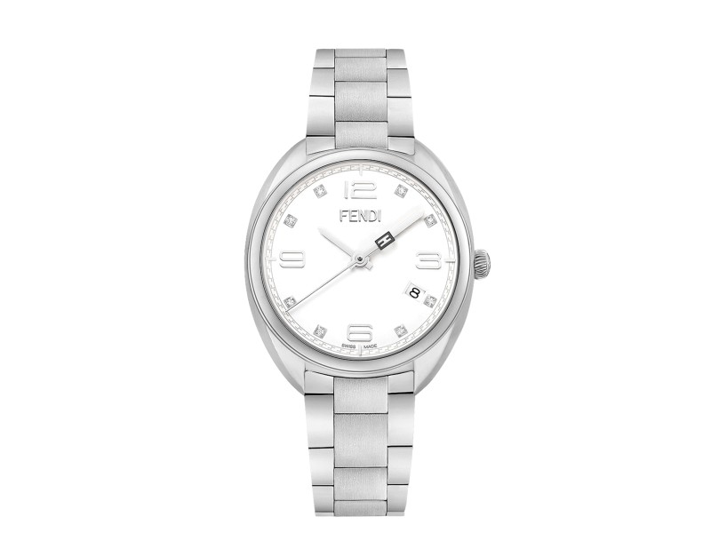 Fendi Timepieces Green 39 mm F105010701