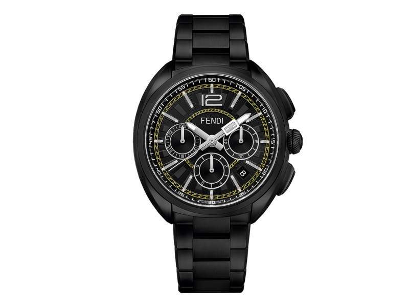 Fendi Timepieces Momento Fendi F231611000 46 mm Mens Watch