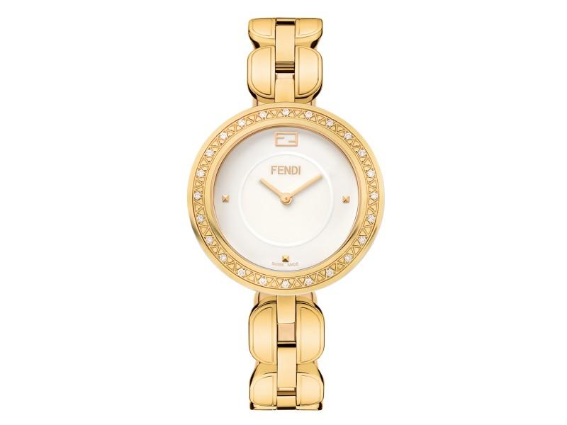 Fendi Timepieces Black 39 mm F105040501