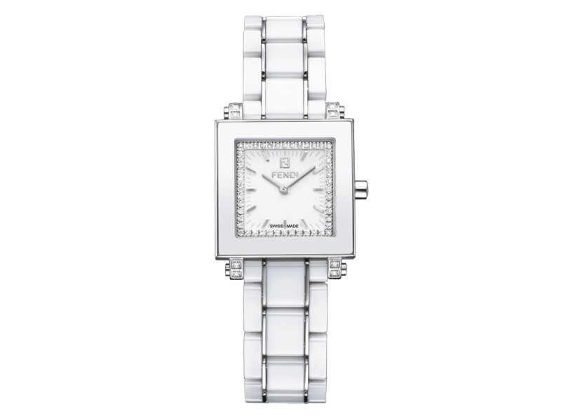 Fendi Timepieces Ceramic 25mm x 25mm Womens Watch