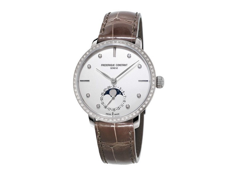 Frederique Constant Slimline Auto FC-703SD3SD6 38.8mm Womens Watch
