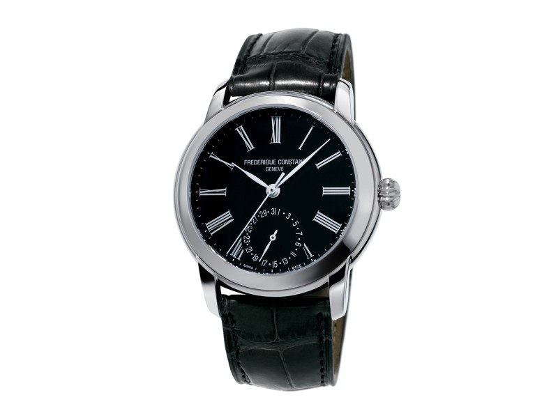 Frederique Constant Manufacture FC-710MB4H6 Leather 42mm Mens Watch
