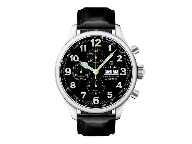 Ernst Benz ChronoScope GC10111 Mens  47mm Watch