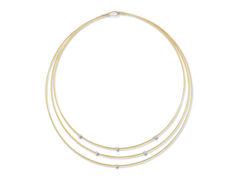 I.Reiss Multi-strand Wire Necklace
