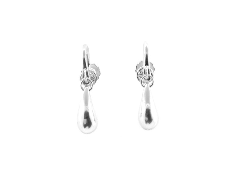 Tiffany & Co. Teardrop Earrings With Screw Lever Back