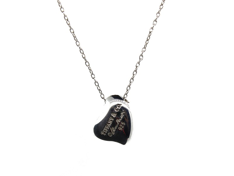 bbc840d7f09ca Tiffany & Co. Full Heart Pendant Necklace