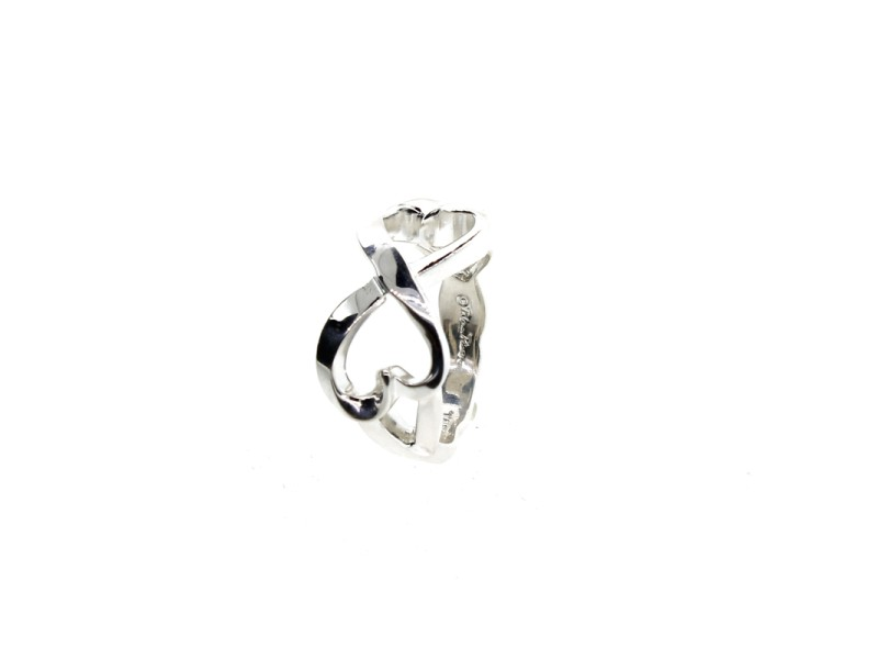 Tiffany & Co. Double Loving Heart Ring
