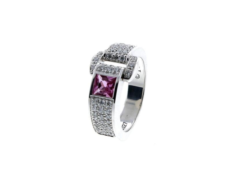 Piaget 18K WG Miss Protocol Ring