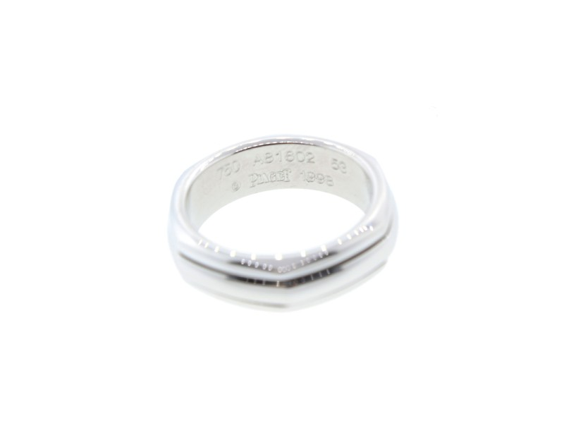 Piaget 18K White Gold Band