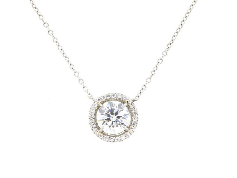 Tiffany and Co Diamond Pendant