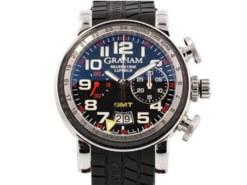Graham Grand Silverstone Luffield Night Racer 2GSIUS.B08A.K07B 44mm Mens Watch