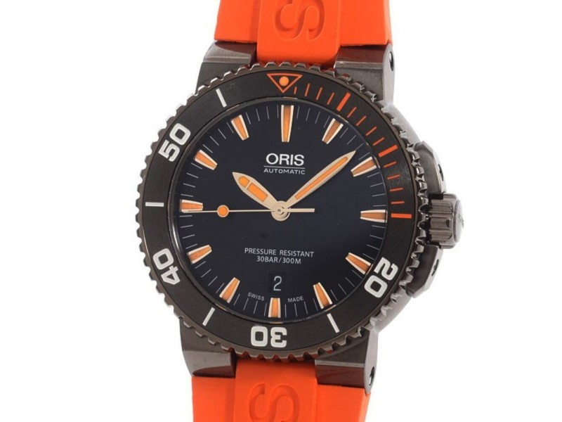 Oris Aquis Date 733/7653/4259RO 43mm Mens Watch