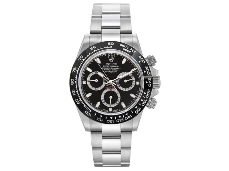 Rolex Pre Owned Custom Ceramic Daytona 116520 40mm Men's Watch