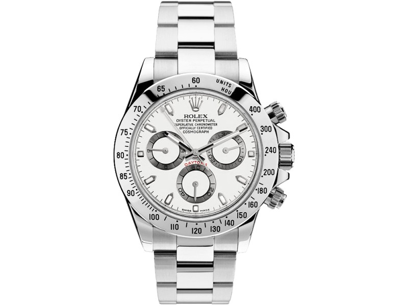 Rolex Daytona 116520 White Dial 40mm Mens Watch